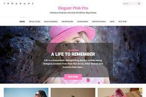 Elegant Pink Pro: Feminine Theme