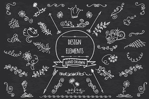 HandSketched  Elements Pack Vector