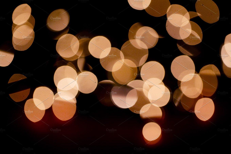 Bokeh Blurred Fairy Lights Holiday Photos Creative Market