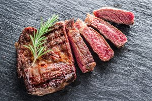 Medium Ribeye steak