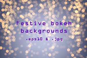 Original bokeh backgrounds set