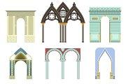 Arch vector architecture