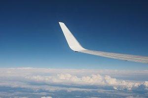 Plane wing detail