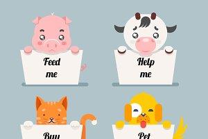 beggar animals