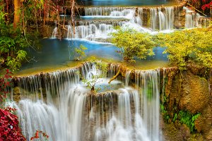 Beautiful water fall