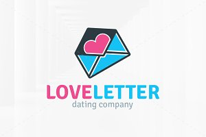 Love Letter Logo Template