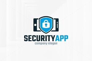 Security App Logo Template