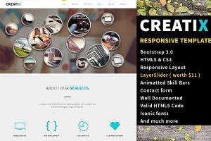 CreatiX - Responsive HTML5 Template