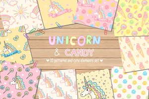 Unicorn and Candy