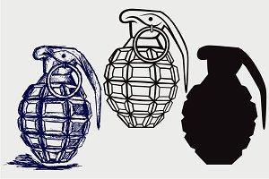 Grenade SVG