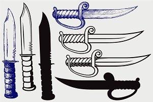 Knifes SVG