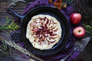 Apple Galette Holiday Dessert