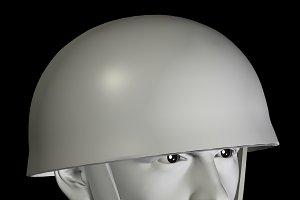 Soldier With Helmet