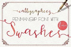 Calligrapheez Font ModernCalligraphy