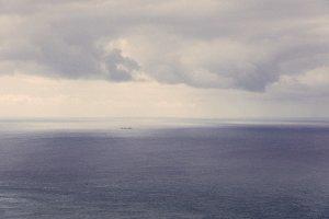 Endless Horizon over the Ocean