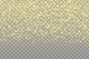 Effect texture glowing confetti