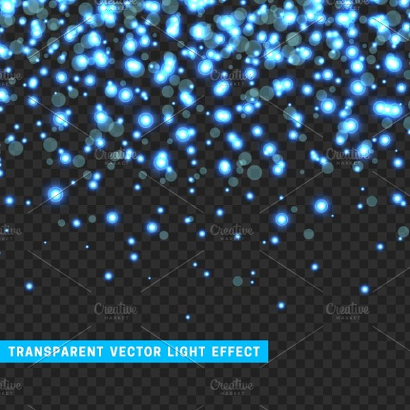 Effect Sparkle Blue