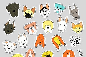 Animals patch collection