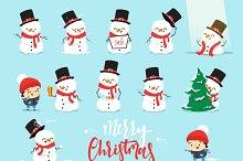 Snowman Christmas,