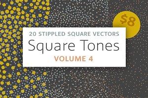 Square Tones Vol. 4 | 20 Halftones