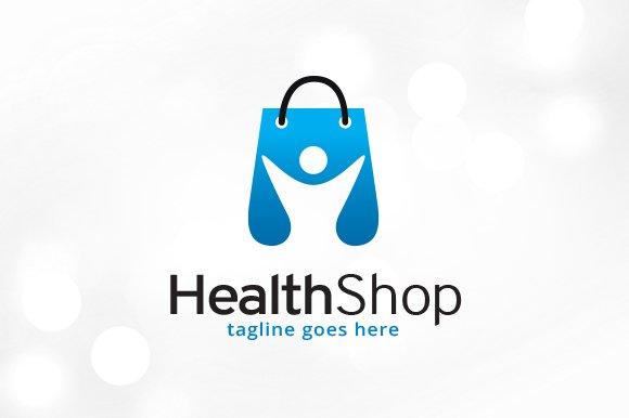 Health Shop Logo Template