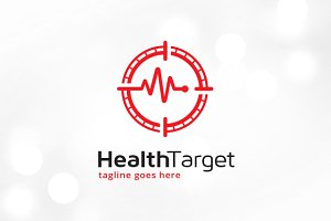 Health Target Logo Template