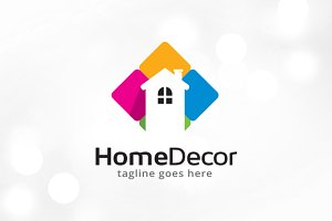 Home Decor Logo Template