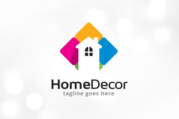 Home Decor Logo Template ~ Logo Templates ~ Creative Market