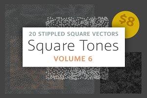 Square Tones Vol. 6 | 20 Halftones