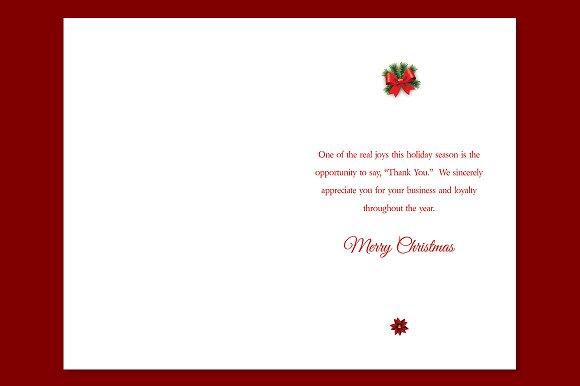 ornament christmas card template card templates creative market