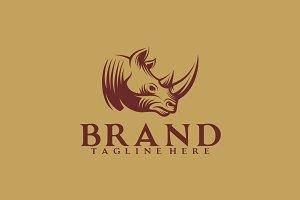 Rhino Retro Logo