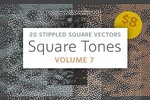 Square Tones Vol. 7 | Halftones