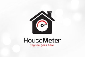House Meter Logo Template