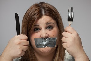 Closed mouth diet