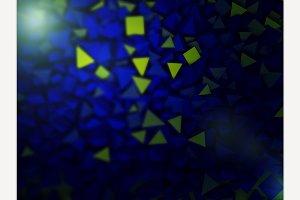 Abstract pyramidal shape