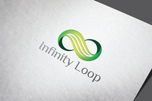 Nature Green Infinity Loop Flow
