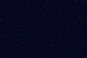 Space stars background