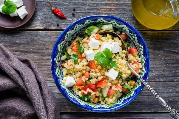 Tabbouleh salad step-by-step recipe…