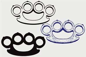 Brass knuckles  SVG