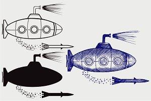 Submarine SVG