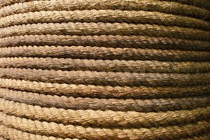 Old Rope From Sailing Ship