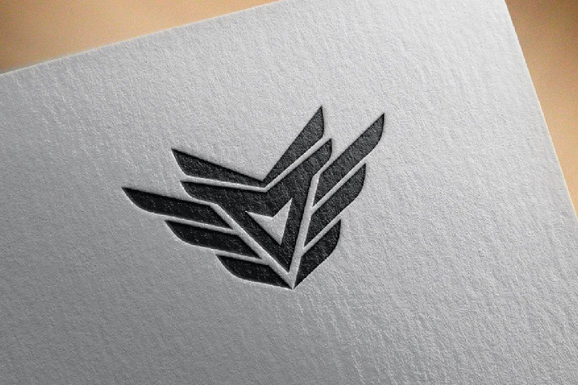 Eagle Wings Logo Design