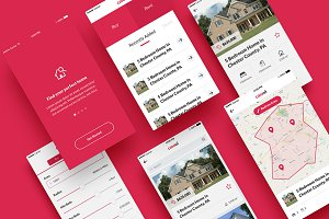 Casa - Property Mobile App UI Kit