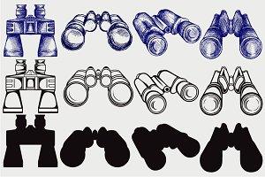 Binoculars SVG