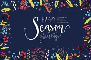 HAPPY SEASON GREETINGS DIY PACK