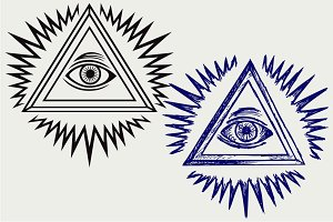 All seeing eye SVG