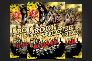 Rock Flyer Template
