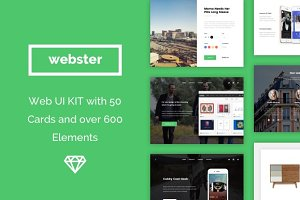 Webster Material UI Kit
