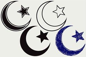 Islamic Star SVG