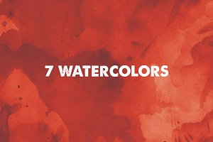 7 Watercolor Backgrounds